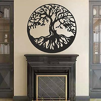 BATTOO Tree of Life Vinyl Wall Decal Sticker - Celtic Tree Life Wall D¨¦cor Culture Symbol Office Living Room Yoga Studio Wall Decoration