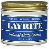 #9: Layrite Natural Matte Cream, 10.5 Oz.