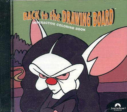 Amazon.com: Pinky and the Brain - Crazy Paint Back to the Drawing ...