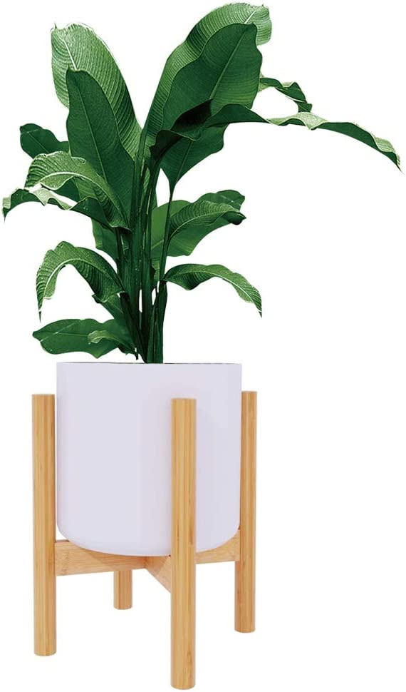Hellozebra フラワースタンド 屋外 室内 フラワーラック 鉢スタンド 竹製