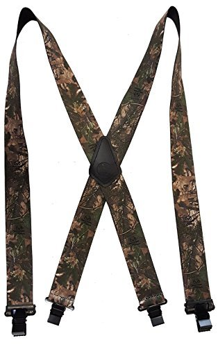 REALTREE EXTREME CAMOUFLAGE GREEN - USA MADE CUSTOM SUSPENDERS - 2