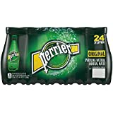 Perrier Sparkling Natural Mineral Water, 16.9-ounce plastic bottles (Pack of 24)