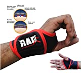 RAD One Pair Neoprene Wrist Thumb Brace Support Gym Weightlifting Wraps Strap New For Sale