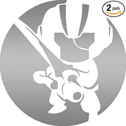 Amazon.com: Ninja (Metallic Silver) (Set of 2) Premium ...