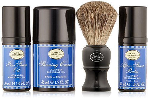 The Art of Shaving Mid-Size Kit, Lavande