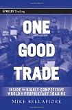 One Good Trade, Mike Bellafiore, 0470529407