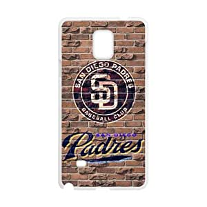iFanatic MLB San Diego Padres Cashmere Custom Case for SamSung Galaxy Note4.