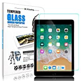 DONWELL iPad 9.7/iPad 5 6 Screen Protector Bubble Free Anti Scratch Tempered Glass Protective Cover for Apple iPad 5th 6th generation/iPad Pro 9.7 Model A1823 A1822 New 2018 2017 9.7 inch (1 Pack)