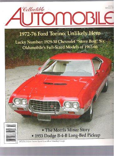 Collectible Automobile Magazine (1972-76 Ford Torino, February 2011)