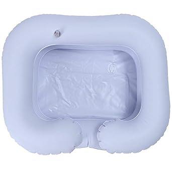 Amazon.com: Champú hinchable de PVC para lavabo de ancianos ...