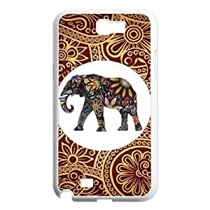 Custom Colorful Case for Samsung Galaxy Note 2 N7100, Indian Elephant Cover Case - HL-R644734