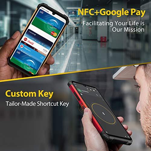 Écran 6,1 Pouces 4Go+64Go Octa-Core Telephone Portable 4G, Ulefone Armor 8 Smartphone Incassable Androud 10 5580 mAh… 5