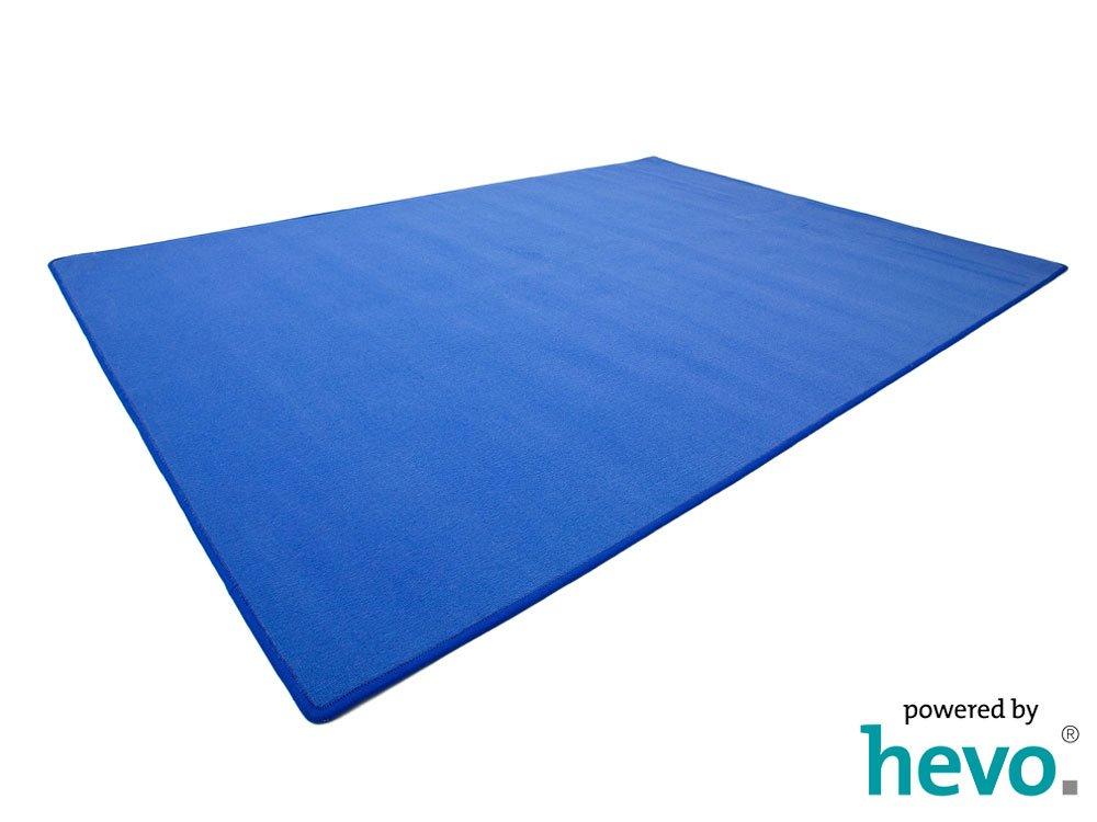 Amigo blau HEVO® Teppich | Kinderteppich | Spielteppich 200x400 cm