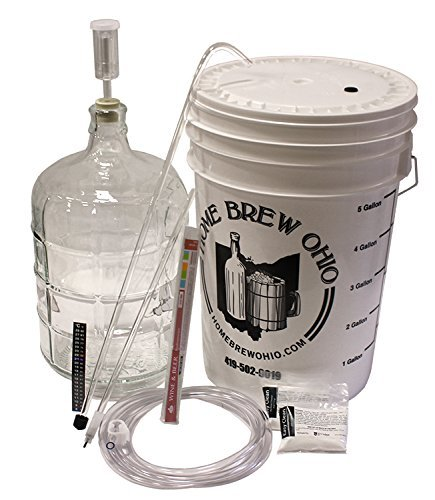 Winemakers Depot 3 Gallon Glass Wine Making Equipment Kit by Winemakers Depot