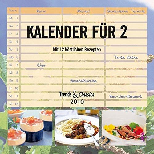Kalender für 2 - T & C-Kalender 2010
