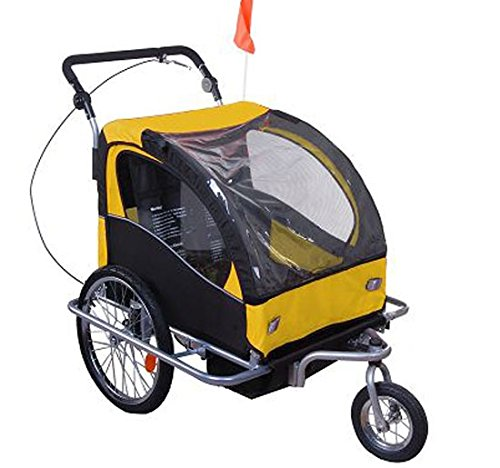 Bicycle Trailer Stroller Combo - 6