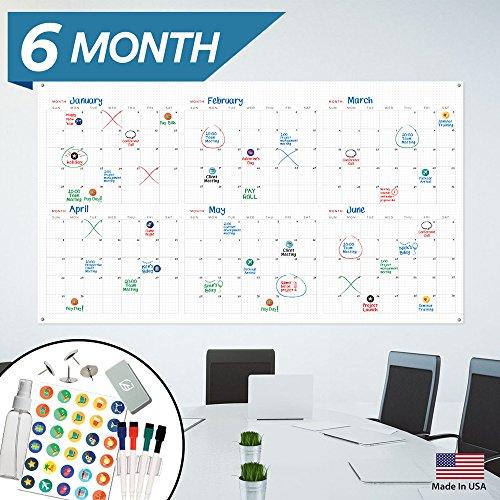 Large Dry Erase Wall Calendar - 44