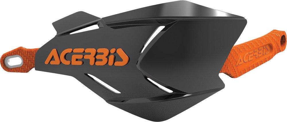 Acerbis 2634661009 X-Factory Handguards - Black/Orange