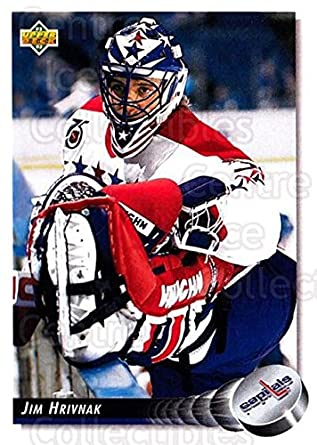 7c6277d54b8 Amazon.com  (CI) Jim Hrivnak Hockey Card 1992-93 Upper Deck (base ...