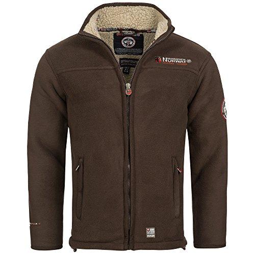 Geographical Norway Ureka Men's Fleece Jacket Fleece Jacket Warm Cozy Lining Lined Size S-XXXL