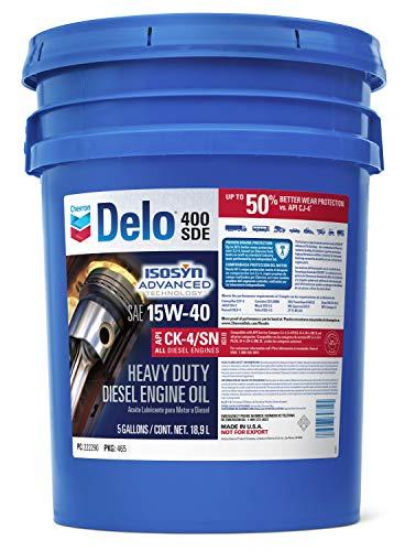 Delo 400 SDE SAE 15W-40 Motor Oil - 5 Gallon Pail