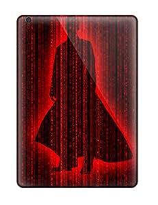Hot Design Premium EJMtPOi939eiDXv Tpu Case Cover Ipad Air Protection Case(black And Red)