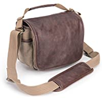 Think Tank Retrospective 5 Small Shoulder Bag for DSLR Camera, Mirrorless System and 8 Tablet, Leather/Sandstone