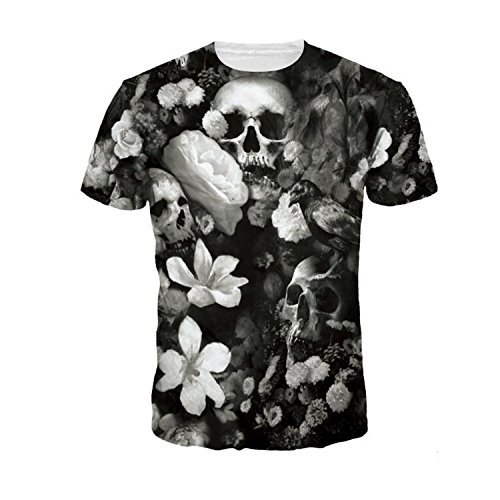 GERGER BO Men's 3D Printing Leisure Sports Short Sleeve T-shirt£¨238 S£