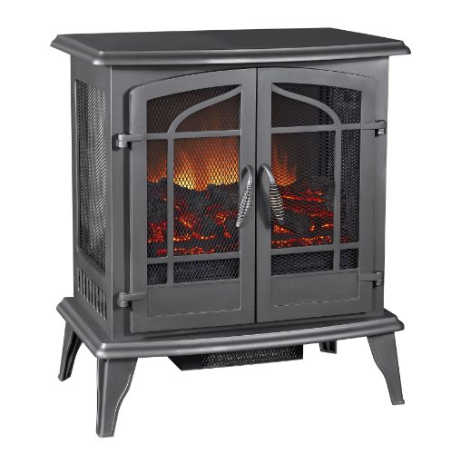 GHP Pleasant Hearth Legacy Panoramic Electric Stove, Vint...