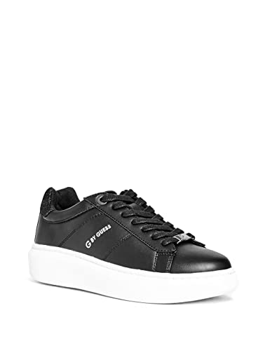GUESS Sneakers Black Women Textile fibers | outlet boutique