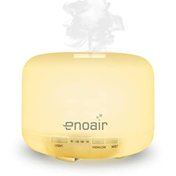 Enoair 500ml Aromatherapy Cool Mist Ultrasonic Air