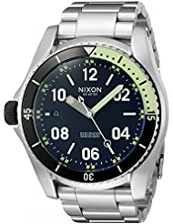 Nixon Mens Descender Swiss Quartz Stainless Steel Casual Watch (Model: A959000-00)