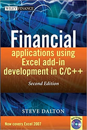 Amazon com: Financial Applications using Excel Add-in