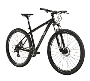 Diamondback Response Mountain Bike with 29-Inch Wheels, Black, 18-Inch/Medium
