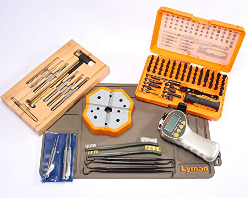 (Lyman Master Gunsmith All-in -One Professional Tool Set)