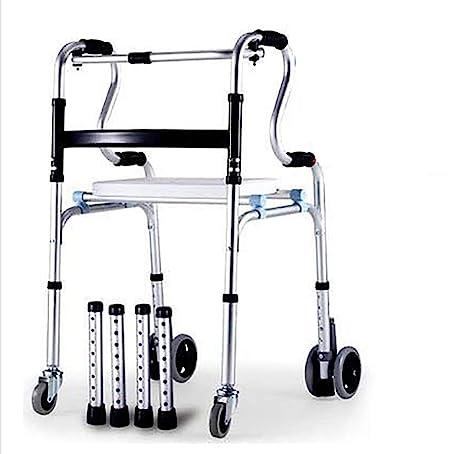 TX Ajustable Andador De Aluminio con Frenos por Presión De ...