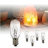 Himalayan Salt Lamp, Shineled Natural Hymalain Pink Rock Salt Lamps Night Light in Metal Basket with Dimmer Switch (4.4-5lbs, 4.1x6.5''), 25Watt Bulb