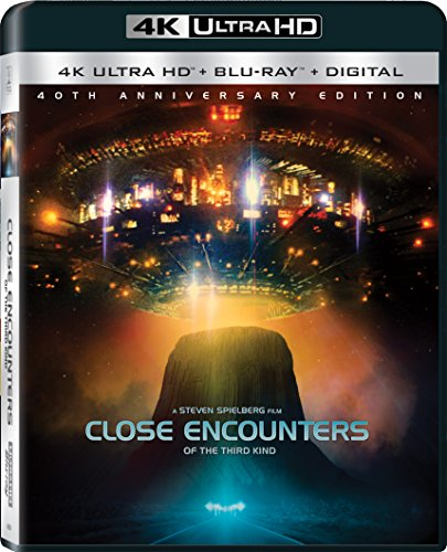 4K Blu-ray : Close Encounters of the Third Kind (40th Anniversary Edition) (With Blu-Ray, Ultraviolet Digital Copy, 4K Mastering, Widescreen, Dolby)