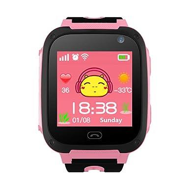 Amazon.com: Reloj inteligente para niños, para niñas, con ...
