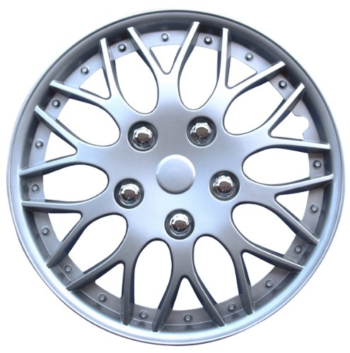 AUTOSTYLE Set wheel covers Missouri 14-inch silver PP9704