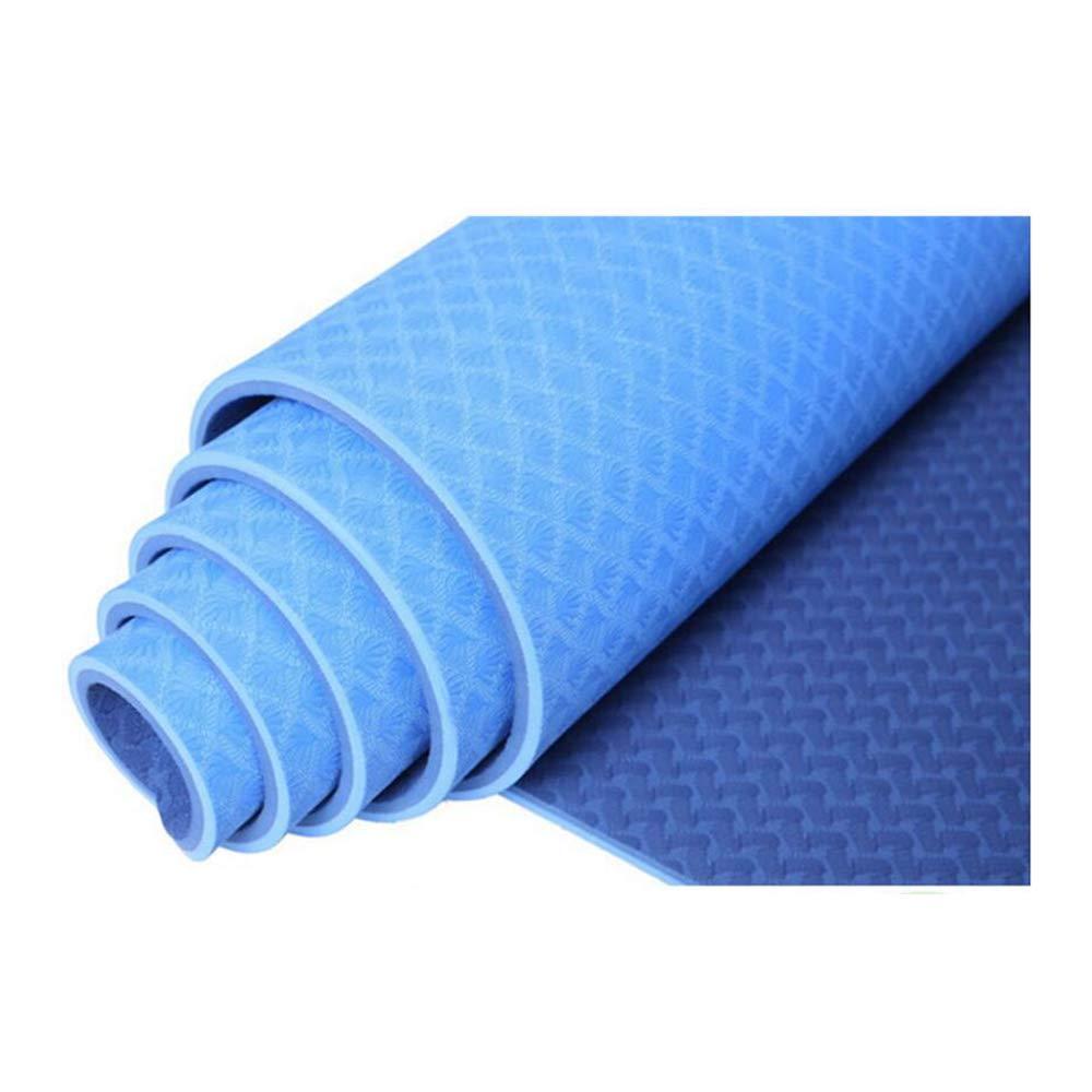 WSNH888 Tapete De Yoga Acolchado TPE Grande con Empuñadura ...