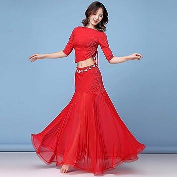 BT-GIRL Disfraz de Danza del Vientre Vestido de Bollywood: Traje ...