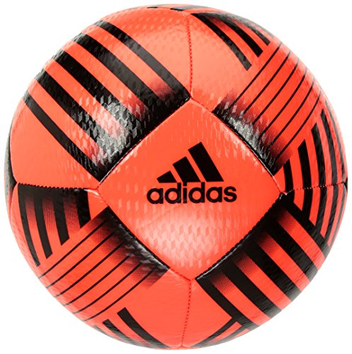 adidas Performance Nemeziz Glider Soccer Ball, Solar Red/Black, 3