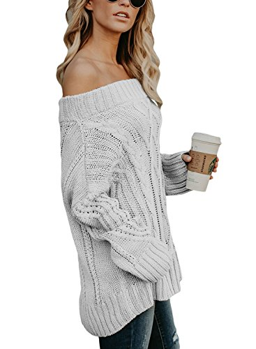 Longues Hors Chandail Femme Pull Manches FIYOTE fRa6pTq