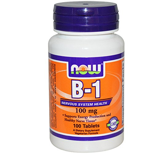 NOW Foods Vitamin Thiamine Tablets product image
