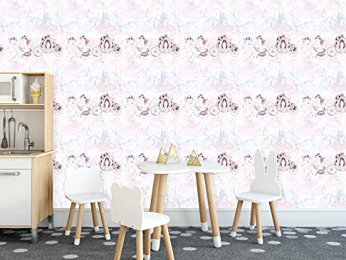Carousel theme Style Wallpaper Mural, Removable Peel and Stick Wallpaper, Removable for Interior Design, Decor you walls for any occasion -