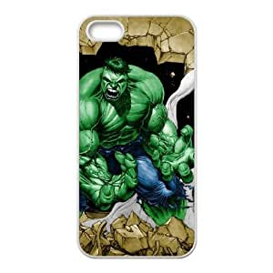iPhone 5 5s White Cell Phone Case Hulk STY791871 Phone Case Sports