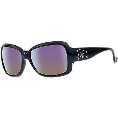 HARLEY-DAVIDSON Brille Damen Sonnenbrille Quadratisch UV-Schutz Schwarz 6hYr9jqF