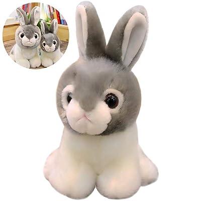1 unid Juguete de Conejo de Dibujos Animados Juguete de Felpa for Dormir Muñeca Linda de Conejo Muñeca de Peluche Regalo Encantador for niños Niños 7.9 Pulgadas - Cool Rob Rabbit: Juguetes y juegos