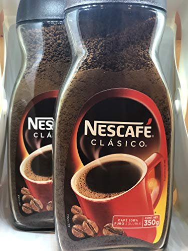 Nescafe instant coffee clasico 12 oz jars 2/pack